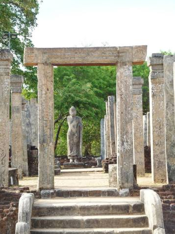 ruine d'un temple bouddhiste