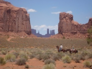 cavaliers, Monument Valley
