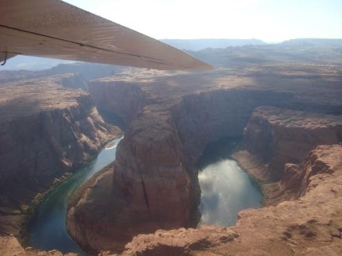survol des canyons