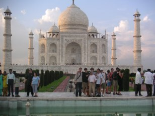 photo du Taj Mahal