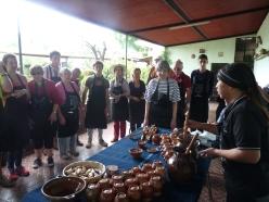 atelier de fabrication de chocolat