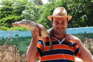 Photo de Xavier à Cuba