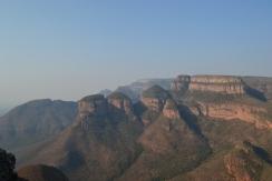 Les trois cases Du canyon
