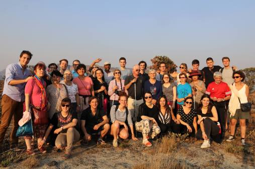 photo de notre groupe en Afrique du Sud