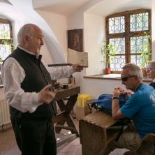 visite de la plus ancienne école roumaine, à Brasov