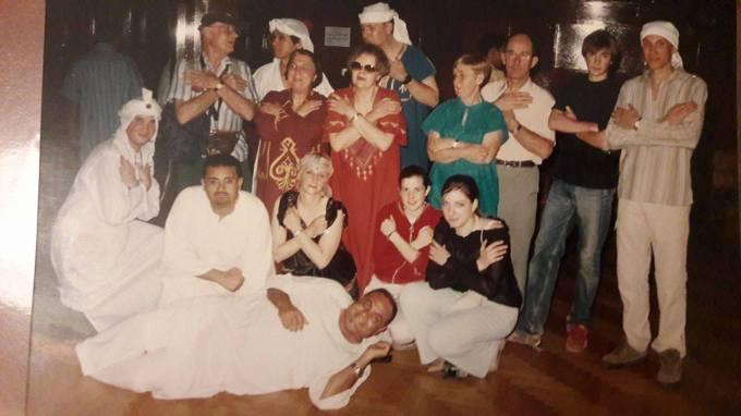 photo de groupe 2004 Egypte