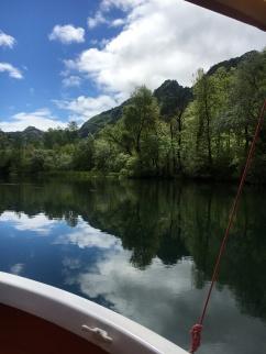 balade lacustre en bateau