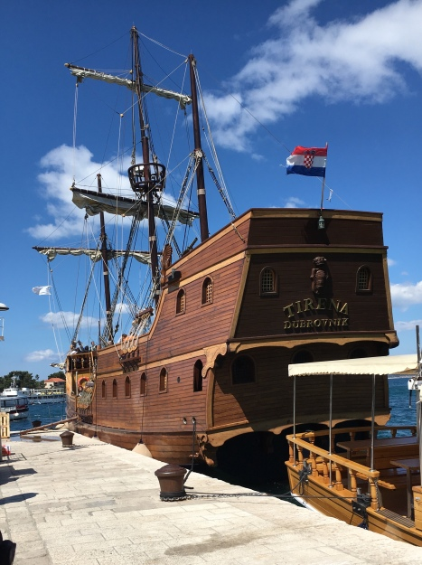 bateau du Dubrovnik